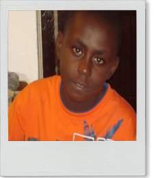 St Margaret Life's Hope Dennis an orphaned boy under our care