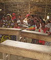 St Margaret Life's Hope Wasanya Tribe childen in their school house Lamu before our aid