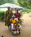 St Margaret Life's Hope Margaret who has recieved aid from our charity