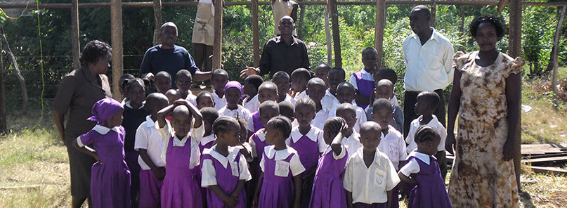 St Margaret Life's Hope children in their new uniforms