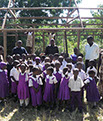 St Margaret Life's Hope children in their new school uniforms